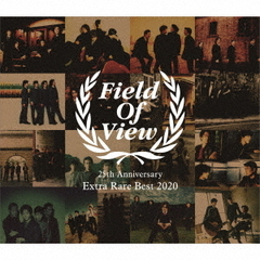 FIELD OF VIEW/FIELD OF VIEW 25th Anniversary Extra Rare Best 2020(2CD+DVD)