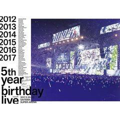 乃木坂46/5th YEAR BIRTHDAY LIVE 2017.2.20-22 SAITAMA SUPER ARENA<4Blu-ray 完全生産限定盤>(限定特典無し)(Blu-ray Disc)