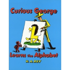【洋書】Curious George Learns the Alphabet