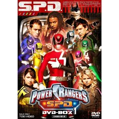 POWER RANGERS S.P.D. DVD-BOX 1(DVD)