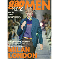 gap PRESS MEN VOL.54(2019 SPR MILAM,LONDON MEN'S COLLECTIONS (gap PRESS Collections) MILAN,LONDON MEN'S COLLECTIONS
