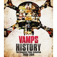 VAMPS/HISTORY-The Complete Video Collection 2008-2014【初回限定盤B】DVD