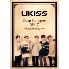 U-KISS/U-KISS Days in Japan Vol.7