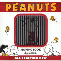 PEANUTS MOVING BOOK ALL TOGETHER NOW