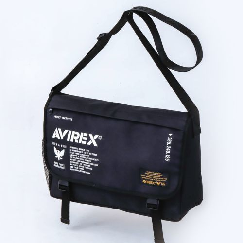AVIREX Big Messenger Bag Book 付録画像