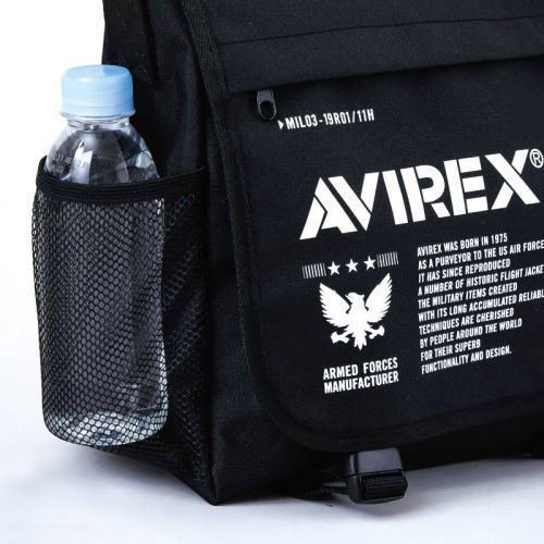AVIREX Big Messenger Bag Book 画像 D