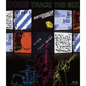 DOES/アルバム再現ライブ TRACE THE SIX(Blu-ray Disc)