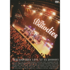 THE BAWDIES/LIVE AT AX 20101011<ビクターロック祭り セブンネット限定A4クリアファイル特典付>