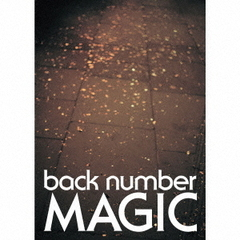 back number/MAGIC(初回限定盤A/CD+Blu-ray+PHOTO BOOK)