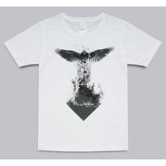 "Mr.Children Dome Tour 2019 ""Against All GRAVITY""/Black Bird Tシャツ (WHITE) Mサイズ"