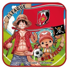 【ONE PIECE|J.LEAGUE】「クラブ/ONE PIECE」コラボ ルフィ&チョッパー ミニタオル(浦和レッズ)