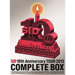 シド/SID 10th Anniversary Tour 2013 COMPLETE BOX <完全生産限定盤>(DVD)