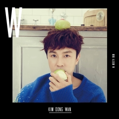 KIM DONG WAN/2ND MINI ALBUM : W(輸入盤)