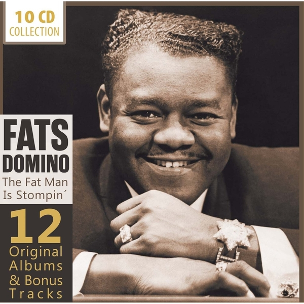 FATS DOMINO/12 ORIGINAL ALBUMS : FAT MAN IS STOMPIN'(10枚組)(輸入盤)