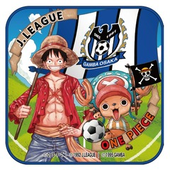 【ONE PIECE|J.LEAGUE】「クラブ/ONE PIECE」コラボ ルフィ&チョッパー ミニタオル(ガンバ大阪)