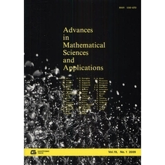 Advances in Mathematical Sciences and Applications Vol.19,No.1(2009)