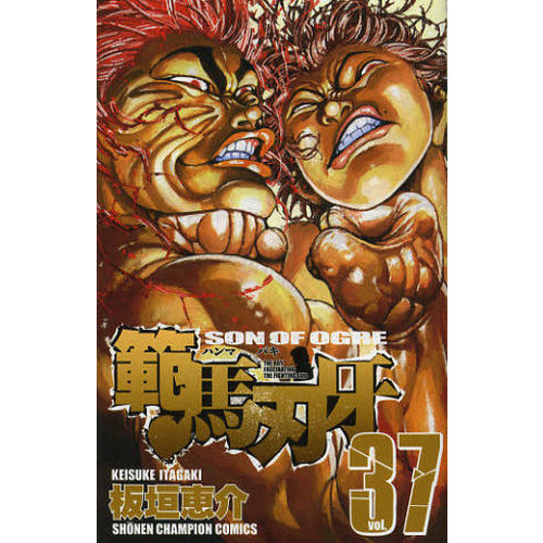 範馬刃牙 SON OF OGRE vol.37 THE BOY FASCINATING THE FIGHTING GOD