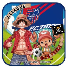 【ONE PIECE|J.LEAGUE】「クラブ/ONE PIECE」コラボ ルフィ&チョッパー ミニタオル(FC東京)