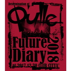 Q'ulle/Determination of Q'ulle 「Future Diary 2018」(Blu-ray Disc)