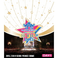 THE IDOLM@STER M@STERS OF IDOL WORLD !! 2015 Live Blu-ray Day 1(Blu-ray Disc)