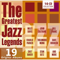 GREATEST JAZZ LEGENDS(10枚組)(輸入盤)