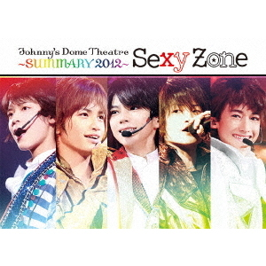 Sexy Zone/Johnny's Dome Theatre~SUMMARY2012~ Sexy Zone(Blu-ray Disc)