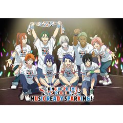 KING OF PRISM SUPER LIVE MUSIC READY SPARKING! Blu-ray(Blu-ray Disc)