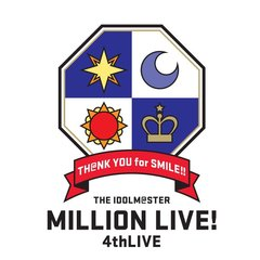 THE IDOLM@STER MILLION LIVE! 4thLIVE TH@NK YOU for SMILE ! LIVE Blu-ray COMPLETE THE@TER【次回入荷予約】(Blu-ray Disc)