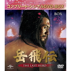岳飛伝 -THE LAST HERO- BOX 3 <コンプリート・シンプルDVD-BOX 5000円シリーズ/期間限定生産>