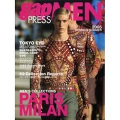 Gap press men Vol.5(2005spring & summer) Paris Milan men's collections