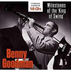 BENNY GOODMAN/MILESTONES OF THE KING OF SWING : 19 ORIGINAL ALBUMS(10枚組)(輸入盤)