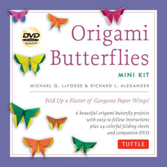 Mini Origami Butterflies Kit