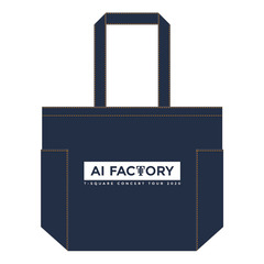 【T-SQUARE】 CONCERT TOUR 2020 「AI Factory」 トートバッグ