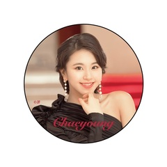 TWICE DOME TOUR 2019/缶バッチ/B【CHAEYOUNG】