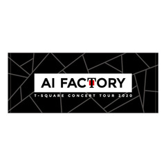 【T-SQUARE】 CONCERT TOUR 2020 「AI Factory」 フェイスタオル