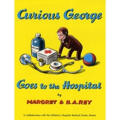 【洋書】Curious George Goes to the Hospital