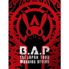 B.A.P/B.A.P 1ST JAPA N TOUR LIVE DVD WARRIOR Begins <初回限定版>
