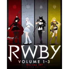 RWBY VOLUME 1-3 Blu-ray SET(Blu-ray Disc)
