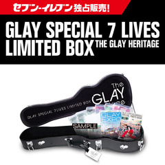 GLAY SPECIAL 7 LIVES LIMITED BOX THE GLAY HERITAGE<セブン-イレブン・セブンネット限定>【キャンセル分】(Blu-ray Disc)