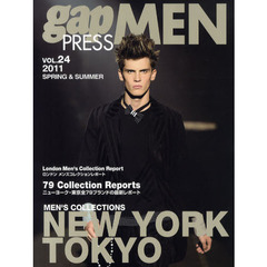 gap PRESS MEN vol.24(2011Spring & Summer) NEW YORK,TOKYO MEN'S COLLECTIONS