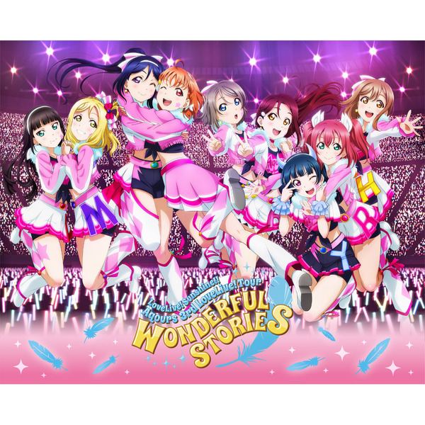 Aqours/ラブライブ!サンシャイン!! Aqours 3rd LoveLive! Tour ~WONDERFUL STORIES~ Blu-ray Memorial BOX 【完全生産限定】<セブンネット限定特典付き>(Blu-ray Disc)