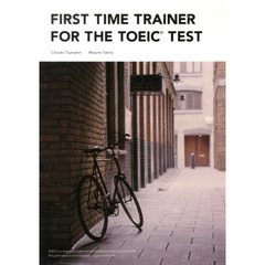 First Time Trainer for the TOEIC Test Student Book (112 pp) with Audio CD