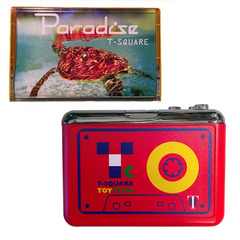 【T-SQUARE】PARADISE Cassette &VINYL STAR INTERNATIONAL  Player