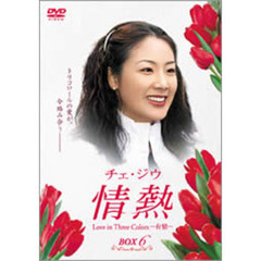 チェ・ジウ 情熱 Love in Three Colors -有情- BOX 6(DVD)