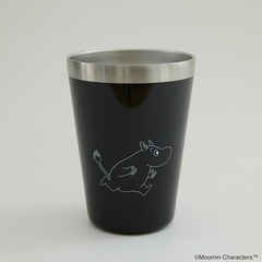 MOOMIN CUP COFFEE TUMBLER BOOK ムーミン BLACK ver.