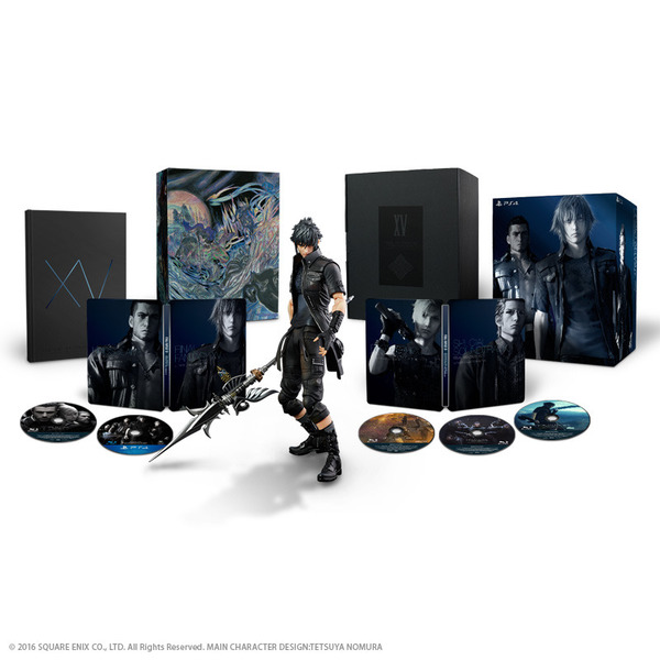 PS4 FINAL FANTASY XV ULTIMATE COLLECTOR'S EDITION