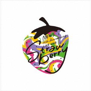 "NEWS/NEWS 15th Anniversary LIVE 2018 ""Strawberry"" 【Blu-ray】 初回仕様(Blu-ray Disc)"