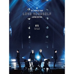 BTS WORLD TOUR 'LOVE YOURSELF' 〜JAPAN EDITION〜(初回限定盤)[UIXV-90022][Blu-ray/ブルーレイ]