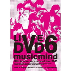 "V6/10th Anniversary CONCERT TOUR 2005 ""music mind""(Blu-ray)"