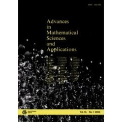 Advances in mathematical sciences and applications Vol.13,No.1(2003)